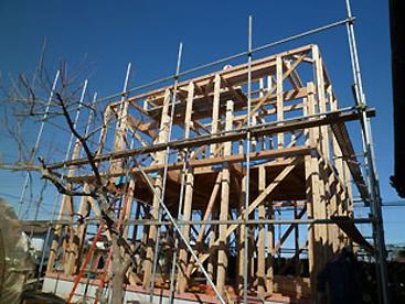 在来工法S様邸 施工の流れ